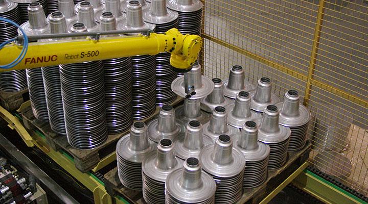 Gerobotiseerde productie - Stapelen 01